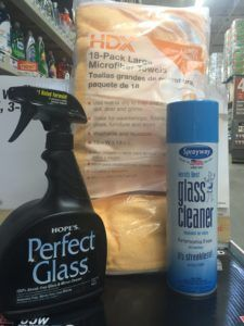 Good glass cleaning solutions